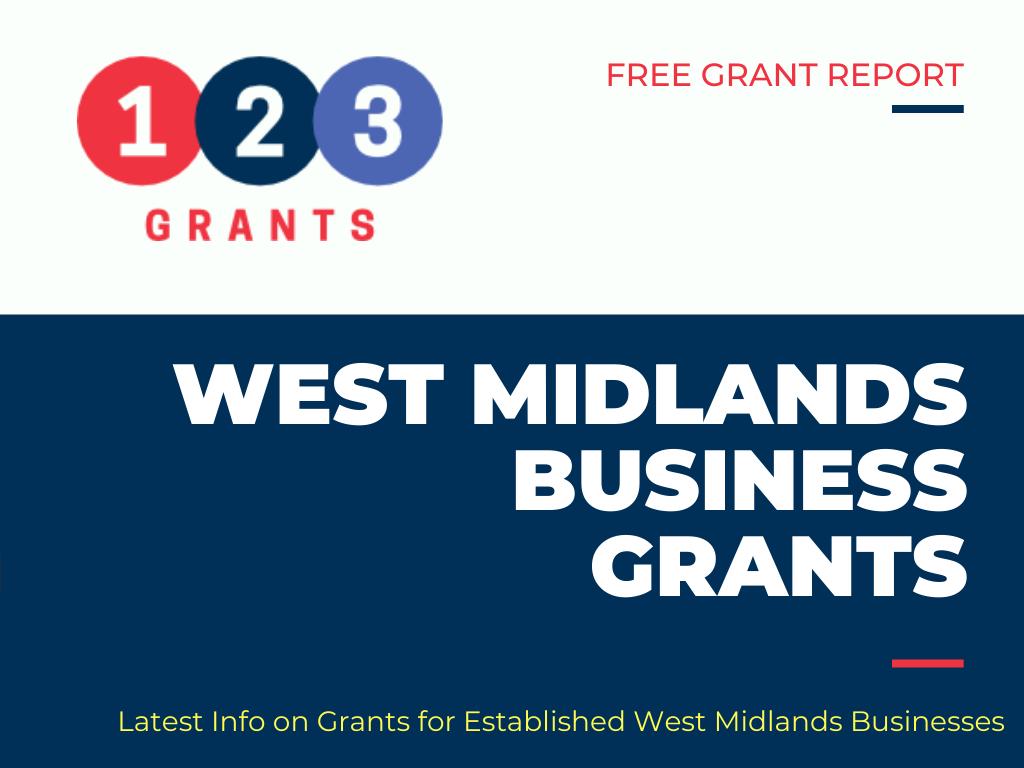 west midlands business grants