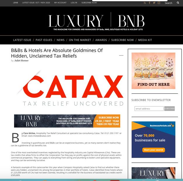 clare mckee catax capital allowances